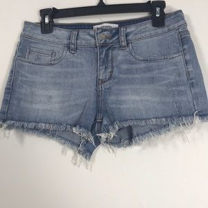 🎈VS PINK Festival Raw Hem Short sz 4